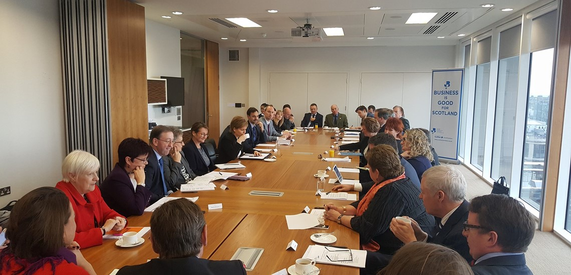 Scottish Chambers of Commerce Network meeting with First Minister Nicola Sturgeon