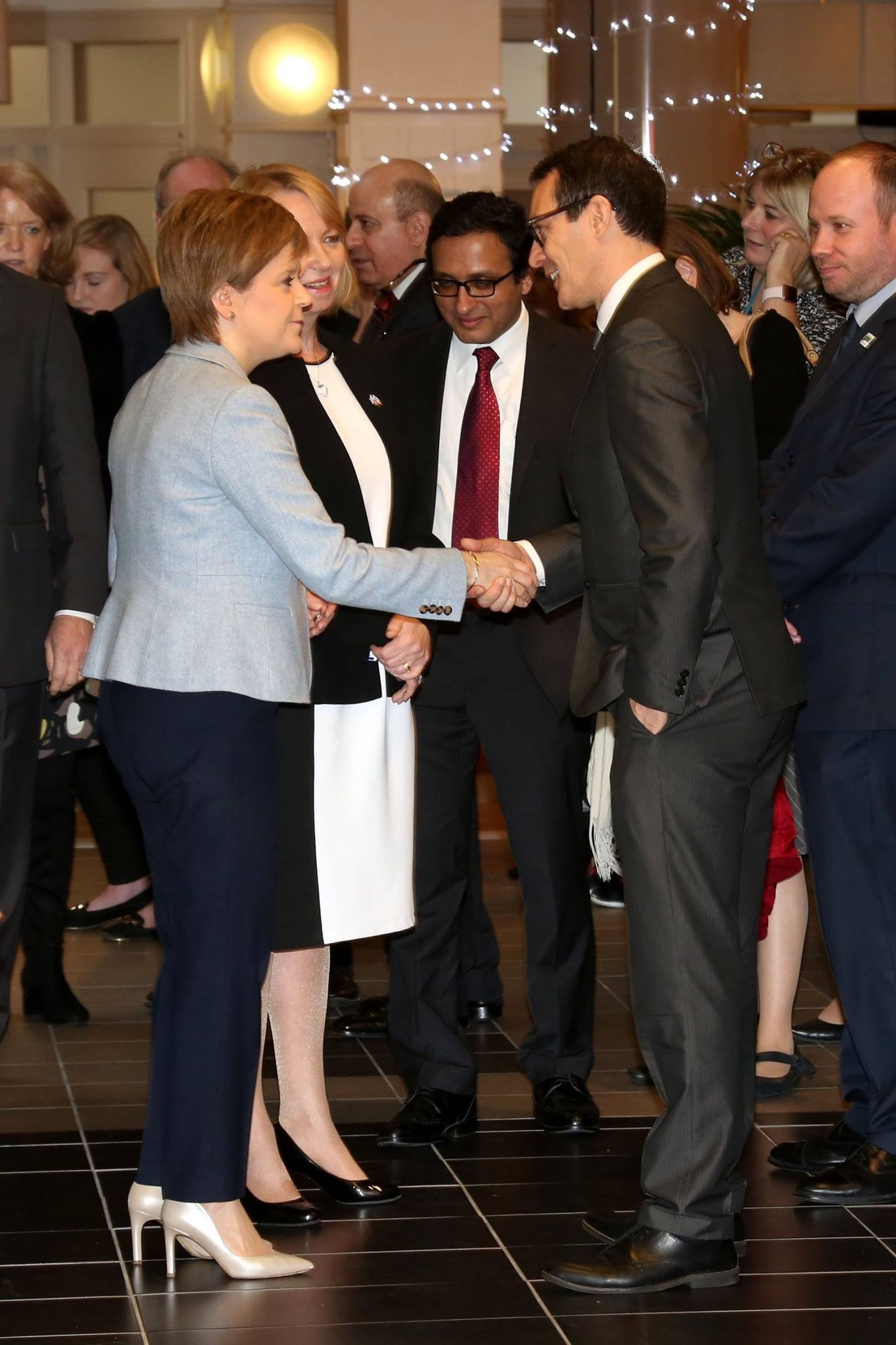 Damon Scott, CEO, Dunbartonshire Chamber of Commerce Meets First Minister, Nicola Sturgeon