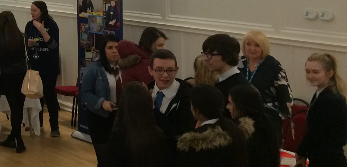 Secondary School Students at DYW event